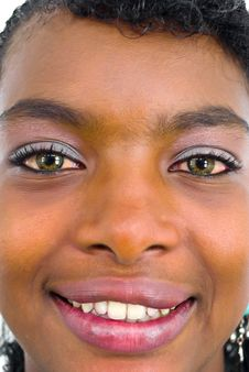 Free Close-up Portrait Of African Girl Royalty Free Stock Images - 4654819