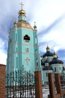 Spaso-Preobrazhenskiy Cathedral Stock Photography