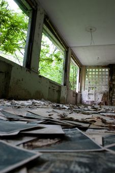 Free Ruined Old Hospital Stock Photo - 4655150