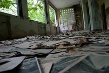 Free Ruined Old Hospital Stock Photography - 4655152