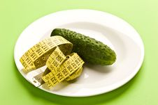 Cucumber Diet Royalty Free Stock Images