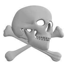Free Skull. Royalty Free Stock Photography - 4656167
