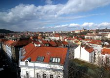 Prague-cityscape Stock Photography