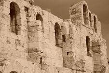 Free Acropolis Royalty Free Stock Photography - 4656497