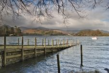 Free Jetty On Derwentwater Stock Photo - 4656880