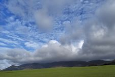 Free Cumulus Clouds Over Skiddaw Royalty Free Stock Images - 4656959