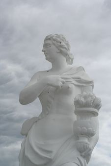 Marble Statue Stock Photography