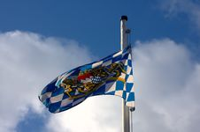 Free Bavarian Flag Royalty Free Stock Photos - 4657318