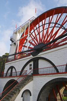 Great Laxey Wheel - Detail  1 Royalty Free Stock Photos