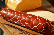 Free Sausage  And Bread Stock Images - 4657524