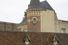 French Chateau Normandy France Royalty Free Stock Photography