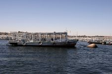Free Ferry To Temple Of Philae. Royalty Free Stock Photo - 4657935