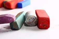 Free Colored Chalk Pastels Royalty Free Stock Image - 4658146