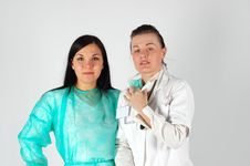 Free Female Doctors Team Royalty Free Stock Image - 4658226