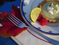 Free Key Lime Pie Stock Image - 4658271