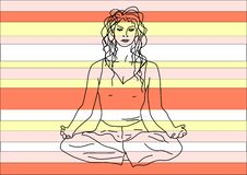Free Color Of Yoga Stock Photography - 4658522