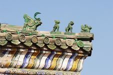 Chinese Ancient Eave Royalty Free Stock Images