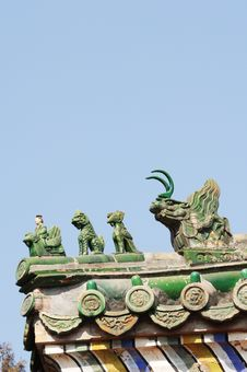 Free Chinese Ancient Eave Stock Photography - 4658842