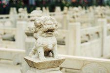 Free Damaged Rock Lion Royalty Free Stock Image - 4658866