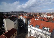 Prague-cityscape Royalty Free Stock Image
