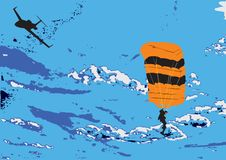 Free Parachutist Royalty Free Stock Images - 4659409