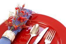 Free Table Setting Royalty Free Stock Photography - 4659647