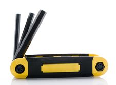 Free Hex Key Tool Stock Photography - 4659652