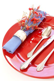 Free Table Setting Royalty Free Stock Image - 4659666