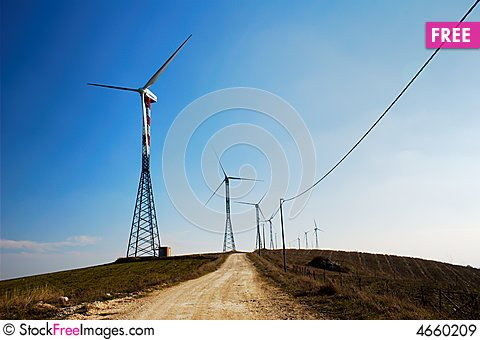 Free Electricity Royalty Free Stock Images - 4660209