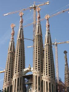 Free Cathedral Sagrada Famiglia Stock Photo - 4660080