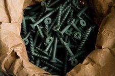 Free Bag Of Screws Royalty Free Stock Photo - 4660275