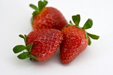 Free Three Strawberries Stock Images - 4660324