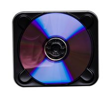 Free CD DVD Metal Case Stock Images - 4660364