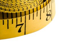Free Black And Yellow Measuring Tape Stock Photography - 4660622
