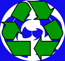Free Recycle Symbol 2 Stock Photos - 4661043