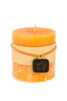 Free Orange Candles Royalty Free Stock Image - 4661816