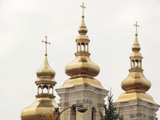 Free Orthodox Church Cupolas Royalty Free Stock Image - 4661866