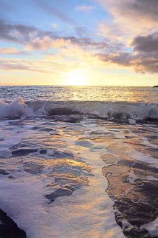Free Tender Sunny Ocean Royalty Free Stock Photo - 4661945