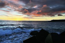Free Sunset Ocean Royalty Free Stock Images - 4661969