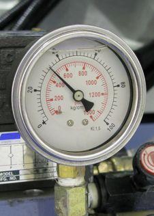 Free Manometer Royalty Free Stock Image - 4662336