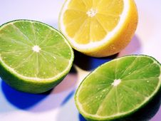 Free Limes And A Lemon Royalty Free Stock Photo - 4662535