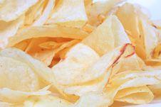 Free Pile Of Potato Chips Stock Photos - 4663013