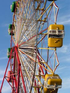 Free Summer Ferris Wheel Royalty Free Stock Photography - 4664417