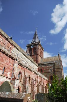 Free St. Magnus Cathedral, Kirkwall Royalty Free Stock Photography - 4664427
