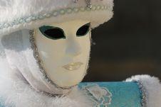 Venetian Mask And Costume Stock Photo