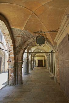 Free Mediaeval Vaulting, Avigliana, Italy Stock Image - 4665571