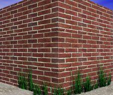 Free Brick Wall. Royalty Free Stock Image - 4665586