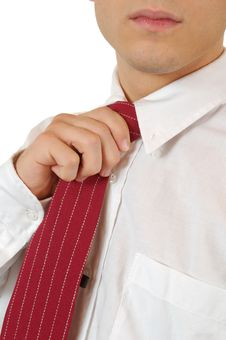 Free Business Man And Tie Stock Image - 4665981