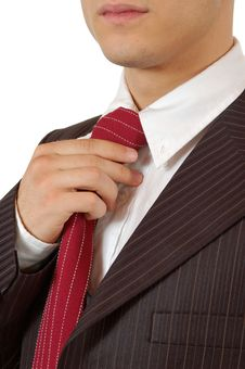 Free Business Man Tie And Suit Royalty Free Stock Photos - 4665988