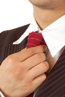 Free Business Man With Necktie Royalty Free Stock Photos - 4666018